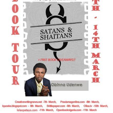 Book Tour: Obinna Udenwe's Satans and Shaitans