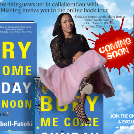 """Welcome to the Online Book Tour: Nike Campbell-Fatoki's """"Bury Me Come Sunday Afternoon."""""""